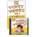 Sara Jordan Publishing™ Funky Phonics® Learn to Read Volume 1 CD and Book