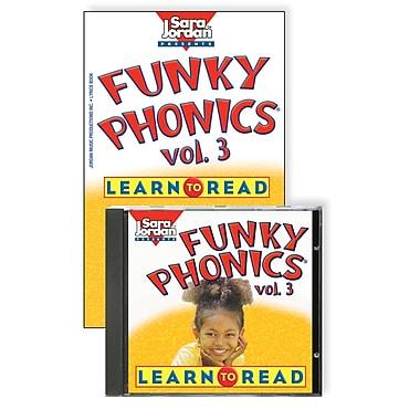 Sara Jordan Publishing™ Funky Phonics® Learn to Read Volume 3 CD and Book
