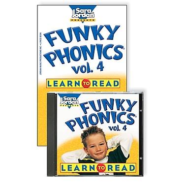 Sara Jordan Publishing™ Funky Phonics® Learn to Read Volume 4 CD and Book