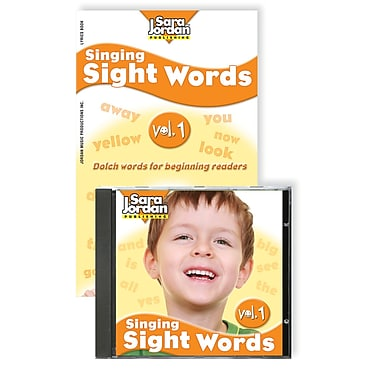 Sara Jordan Publishing™ Singing Sight Words Volume 1 CB/Book