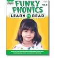 Sara Jordan Publishing™ Funky Phonics® Learn to Read Volume 2 Resource Book, Grade K - 1