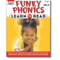 Sara Jordan Publishing™ Funky Phonics® Learn to Read Volume 3 Resource Book, Grade K - 2