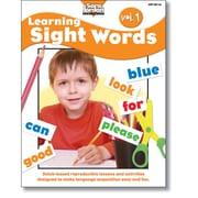 Sara Jordan Publishing™ Learning Sight Words Volume 1 Book
