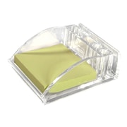 Kantek Acrylic Memo Pad Holder, Clear