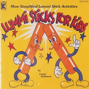 Kimbo Educational® Lummi Rhythm Sticks For Kids CD