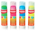 Kores® 0.7 oz. Neon Glue Stick, Assorted