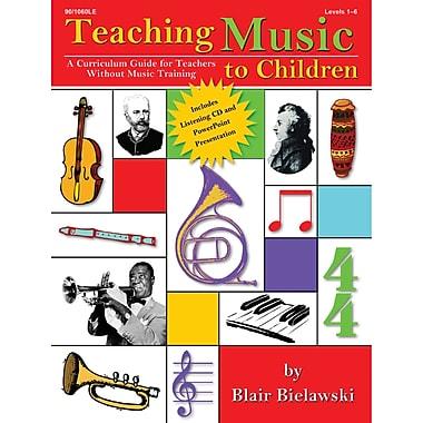Lorenz Corporation Teaching Music To Children Book, Grades 1 - 6