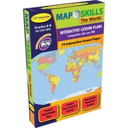 Milliken & Lorenz Educational Press Map Skills: The World IWB Software, Grades 6 - 8