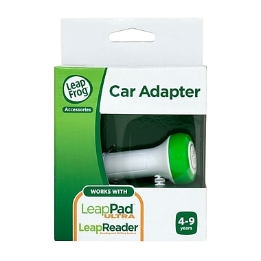 LeapFrog® Car Adapter For LeapReader™ And LeapPad™ Ultra, Ages 4 - 9 Years