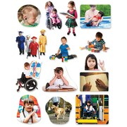 Little Folk Visuals Differing Abilities Felt Set, 14/Set