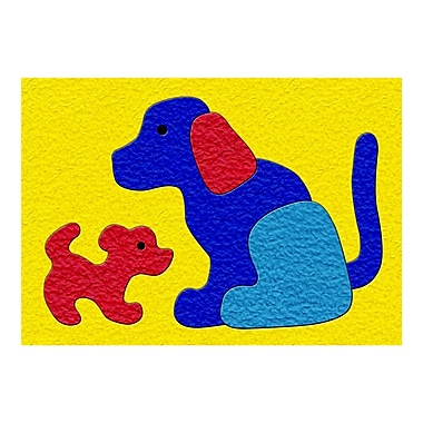 Patch Products® Lauri® Crepe Rubber Puzzle, Dog & Puppy