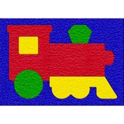 Patch Products® Lauri® Crepe Rubber Puzzle, Train