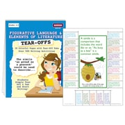 McDonald Publishing Language & Elements Of Literature Tear Offs Activity Book, Grade 4 - 9