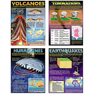 McDonald Publishing Understanding Natural Disasters Poster Set