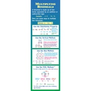 McDonald Publishing Multiplying Binomials Colossal Poster, Math
