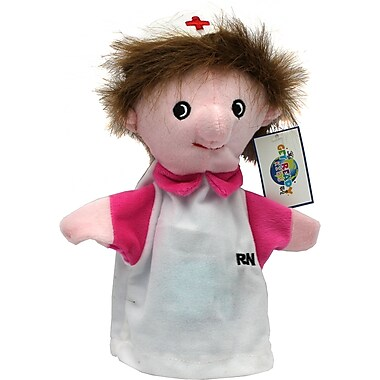 Get Ready Kids® Caucasian Machine Washable Nurse Puppet