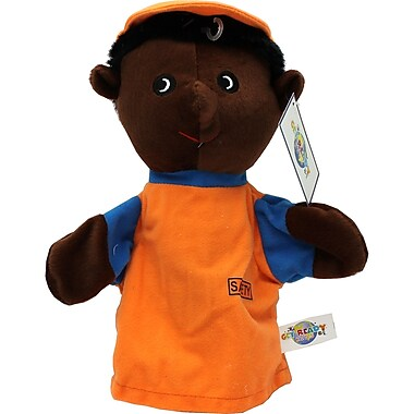 Get Ready Kids® Caucasian Machine Washable Soldier Puppet