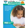 Newmark Learning Everyday Vocabulary Intervention Activity Book, Grade K