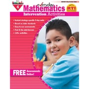 Newmark Learning NL-1011 Mathematics Intervention Activities Book, Grade 4