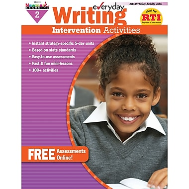 Newmark Learning Everyday Writing Intervention Activity Book, Grade 2