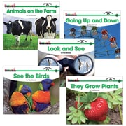 Newmark Learning Sight Word Readers Complete Science 16 Title Book Set, Grade PreK - K