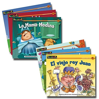 Newmark Learning En Espanol Rising Readers Fiction Nursery Rhyme Tales Volume 2 Book