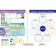 New Path Learning® Genetics The Study of Heredity Visual Learning Guide, Grade 6-9