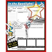 "North Star Teacher Resources 17"" x 22"" ""In The Spotlight"" Fill Me In Poster"