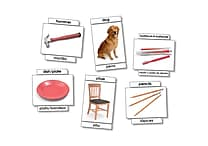 North Star Teacher Resources 6' x 8' Basic Vocabulary Skills Language Card