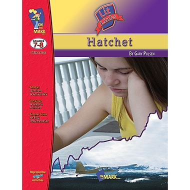 On The Mark Press Lit Link Hatchet Book, Grade 7 - 8