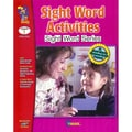 On The Mark Press Sight Word Activities Book, Grade 1