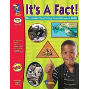 On The Mark Press It's A Fact! Developing Non Fiction Reading Skills Book, Grades 1 - 3