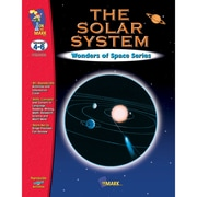 On The Mark Press Wonders of Sapce Series The Solar System Book, Grades 4-6