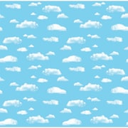 Pacon® Corobuff® 48 x 12 1/2' Clouds Bulletin Board & Kraft Roll