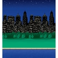 Pacon® Fadeless® Designs 48in. x 50' City Lights Bulletin Board & Kraft Roll