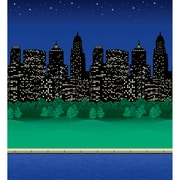 "Pacon® Fadeless® Designs 48"" x 50' City Lights Bulletin Board & Kraft Roll"