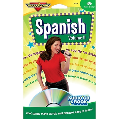 Rock 'N Learn® Spanish Volume II Audio CD + Book