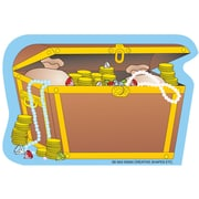 "Creative Shapes™ 3"" x 3"" Mini Notepad, Treasure Chest"