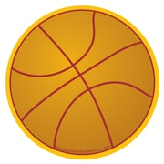 "Creative Shapes™ Basketball Mini Notepad 3"" x 3"", Brown (SE-666)"