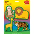 Creative Shapes™ 3in. x 3in. Mini Notepad Set, Zoo