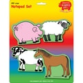 Creative Shapes™ 5in. x 7in. Large Notepad Set, Farm