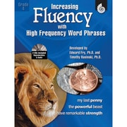 Shell Education Increasing Fluency With High Frequency Word Phrases Book, Grade 4