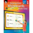 Shell Education Interactive Whiteboards Made Easy Activinspire Software, Level 1, Grade 1