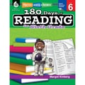 Shell Education Practice, Assess, Diagnose 180 Days of Reading Book, Grade 6