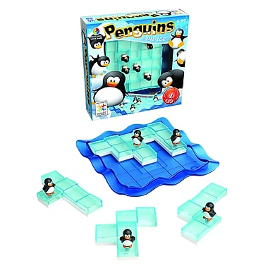 Smart Toys And Games Penguins On Ice Game, Grades K - 9