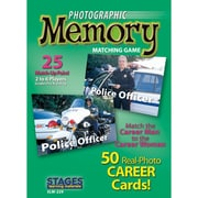 Stages Learning Materials® Careers Photographic Memory Matching Card Game, Grades PreK - 3