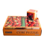 "Stages Learning Materials® 1 1/2"" Fruits Cube Puzzle"