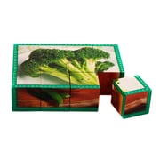 "Stages Learning Materials® 1 1/2"" Vegetables Cube Puzzle"
