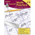 Houghton Mifflin Harcourt Essential Math Practice Quantitative Reasoning Book, 6 - 8 Grade