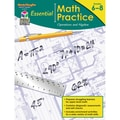 Houghton Mifflin Essential Math Practice Operations and Algebra Book, Grades 6 -8